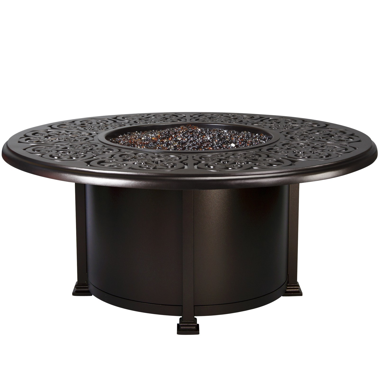 "Fire Pits 54"" Round Chat Height Fire Pit"