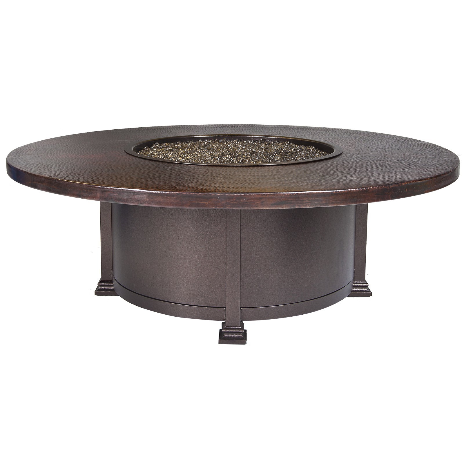 "Fire Pits 54"" Round Occasional Height Fire Pit"