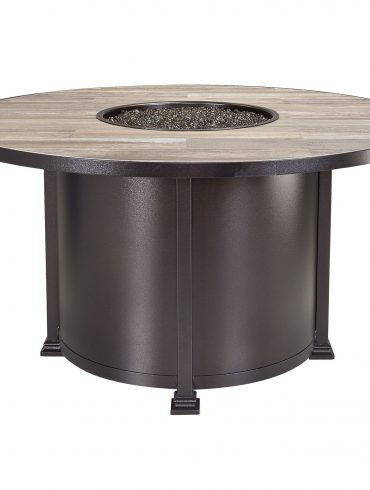 """Fire Pits 54"""" Round Dining Height Fire Pit"""