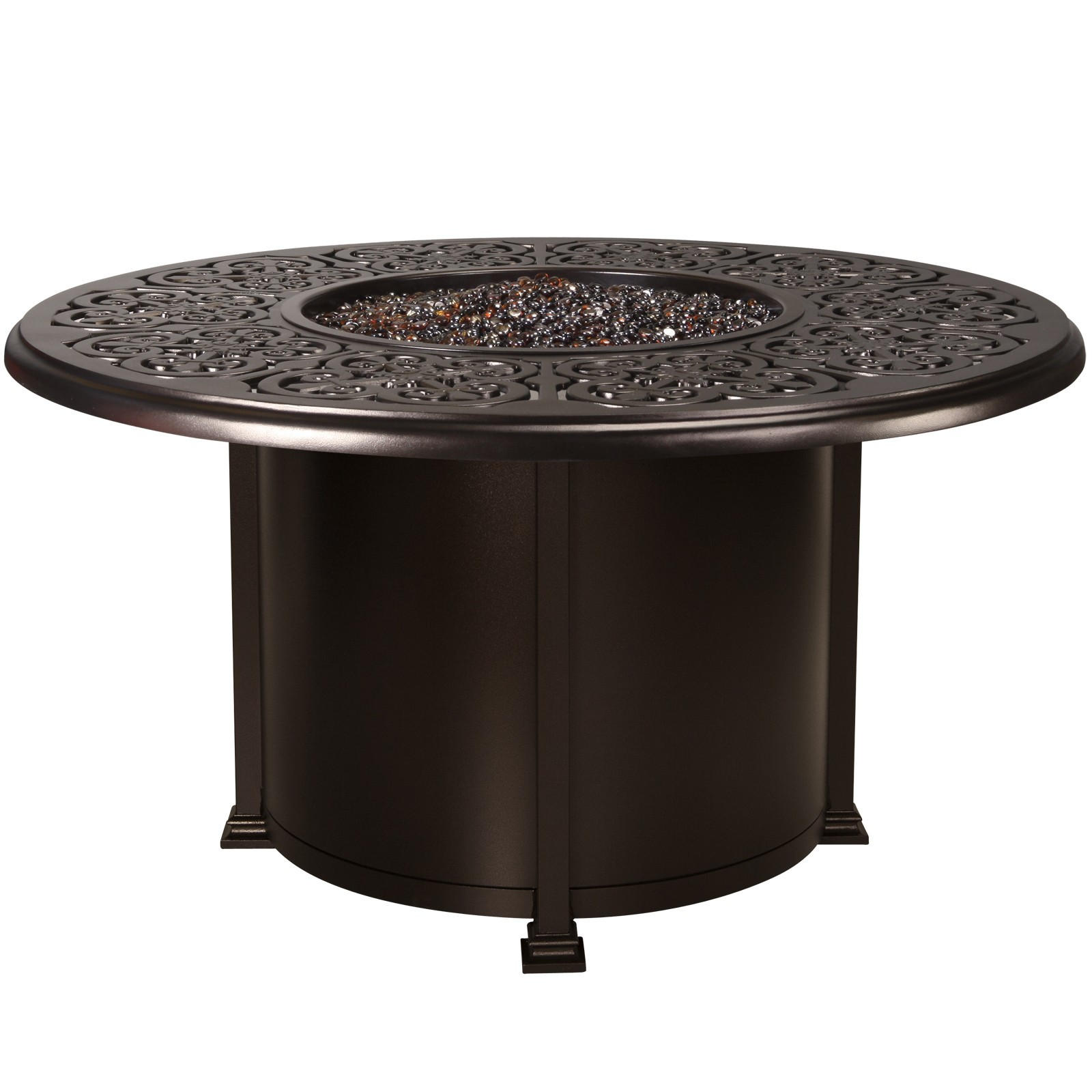 "Fire Pits 54"" Round Dining Height Fire Pit"
