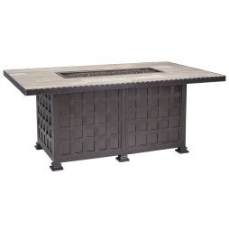 "Classico  36"" x 58"" Chat Height Iron Fire Pit"