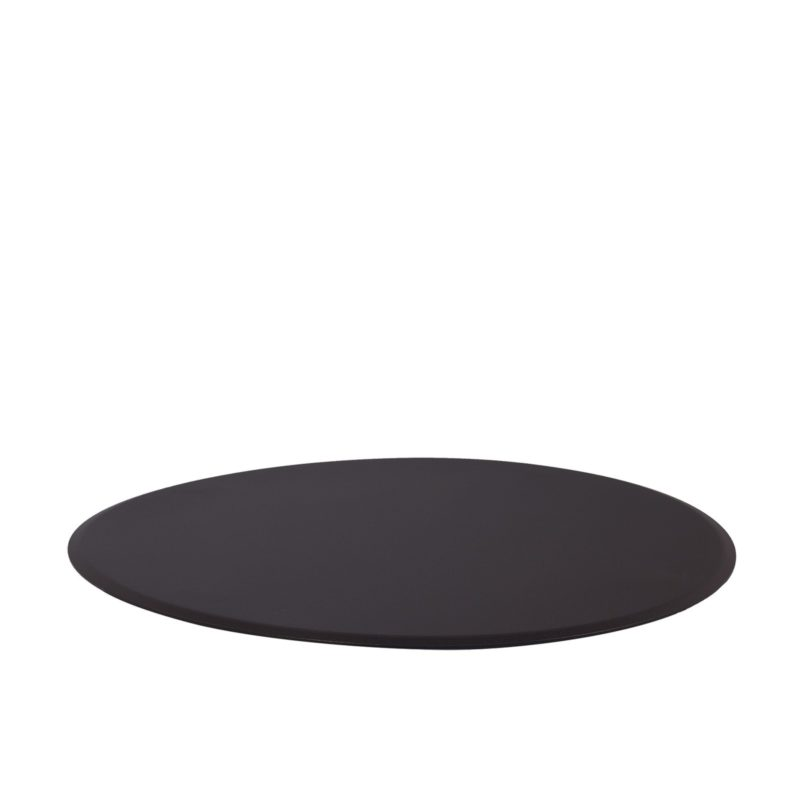 """Fire Pit Accessories Small Round Fire Pit Flat Cover fits 20"""" Round Burner"""