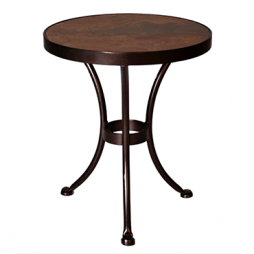 "Accent Table 20"" Round Side Table"
