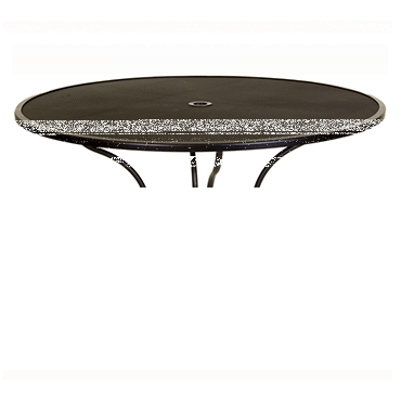 """Micro Mesh Dining Table With 2"""" Umbrella Hole- 54"""" Round"""