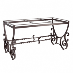 """San Cristobal Dining Table Base fits 42"""" x 72"""" & 42"""" x 84"""" Tops"""