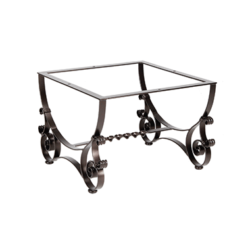 """San Cristobal Coffee Table Base fits 42""""-54"""" Round & 34""""-48"""" Square Tops"""