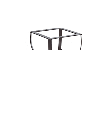 """San Cristobal Side Table Base fits 24"""" -30"""" Round & 24"""" Square Tops"""