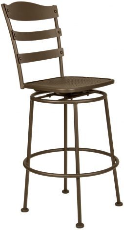 Bistro Chalet Swivel Bar Stool