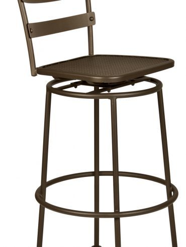 Bistro Chalet Swivel Counter Stool