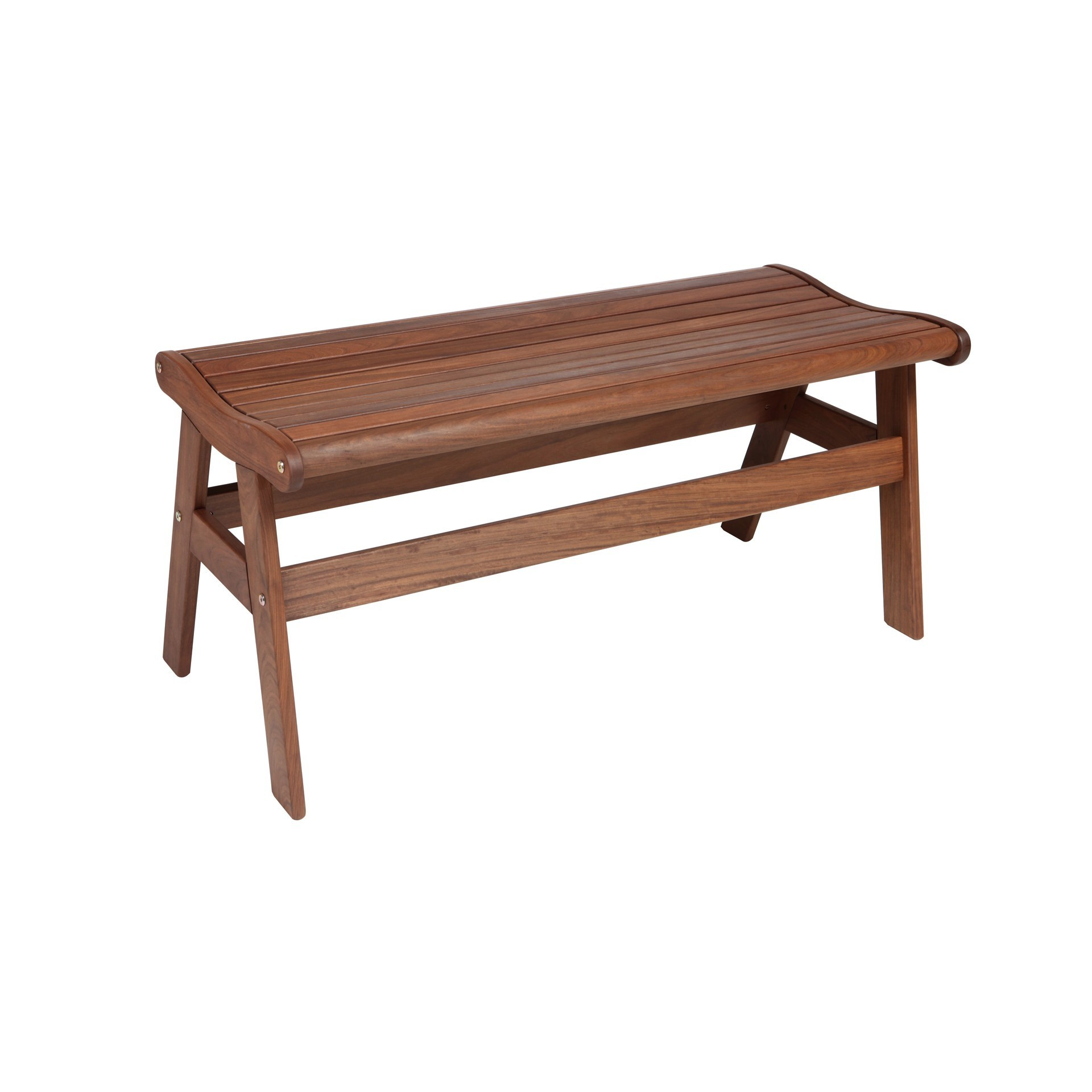 Amber Backless Bench Hauser 39 S Patio