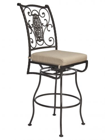 San Cristobal Armless Swivel Bar Stool