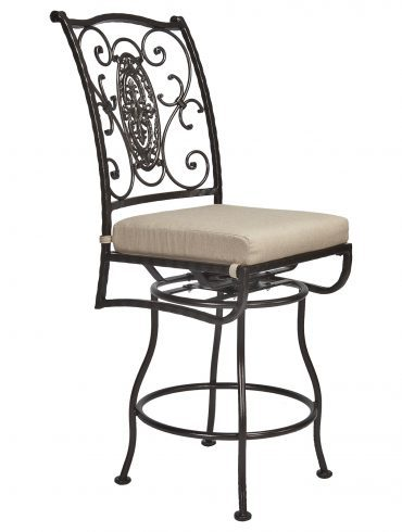 San Cristobal Armless Swivel Counter Stool