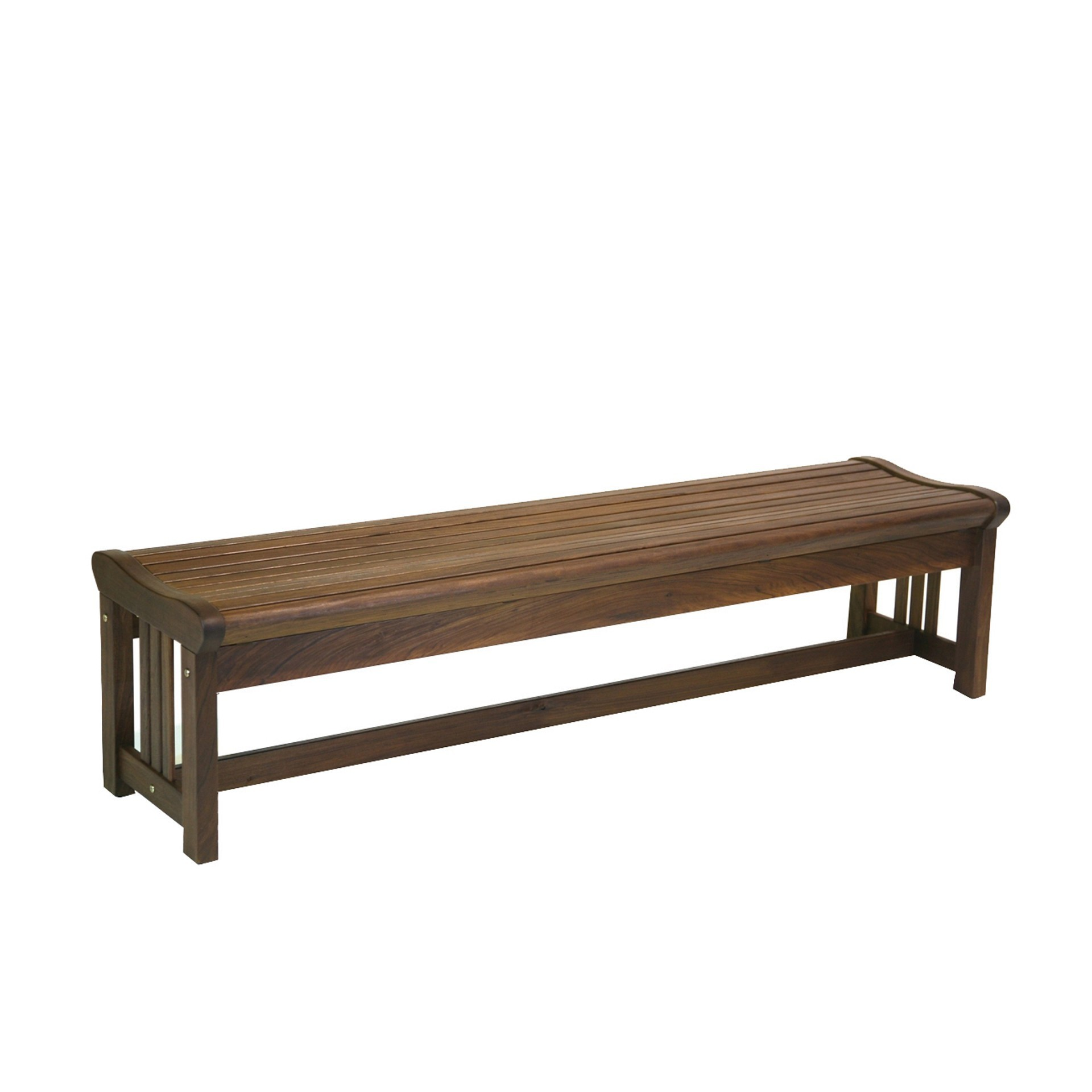 Lincoln Backless Bench Hauser 39 S Patio