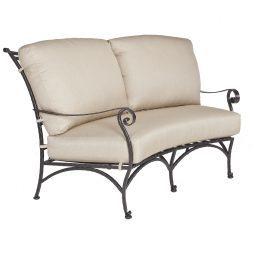 San Cristobal Crescent Love Seat