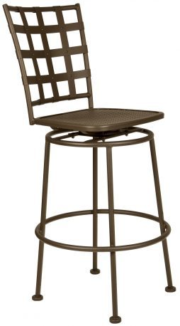 Bistro Case Swivel Bar Stool