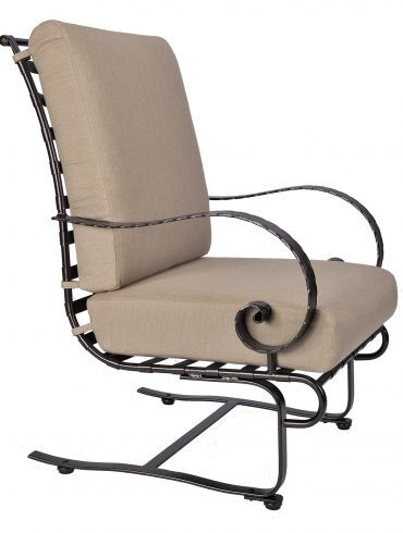 Classico-W Hi-Back Spring Base Lounge Chair