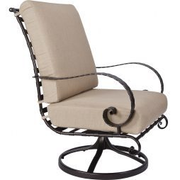 Classico-W Hi-Back Swivel Rocker Lounge Chair