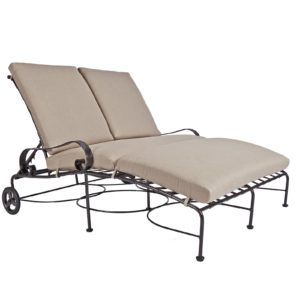 Classico-W Adjustable Double Chaise