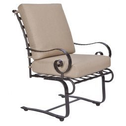 Classico-W Club Dining Spring Base Arm Chair