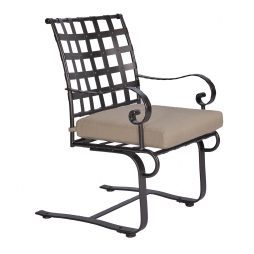 Classico-W Spring Base Dining Arm Chair