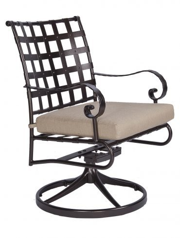 Classico-W Swivel Rocker Dining Arm Chair