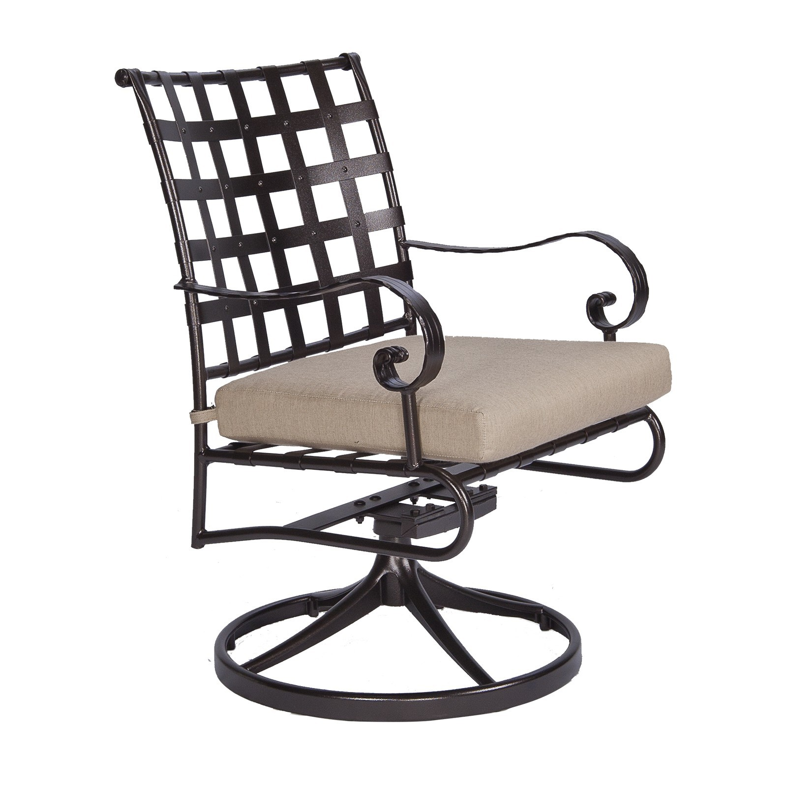 Classico-W Swivel Rocker Dining Arm Chair
