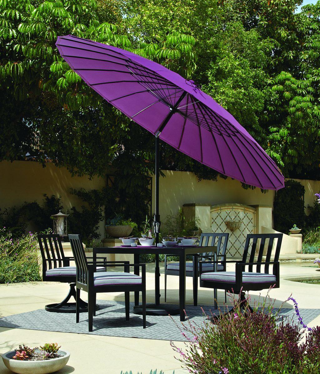 Treasure Garden umbrella with Sunbrella canopy