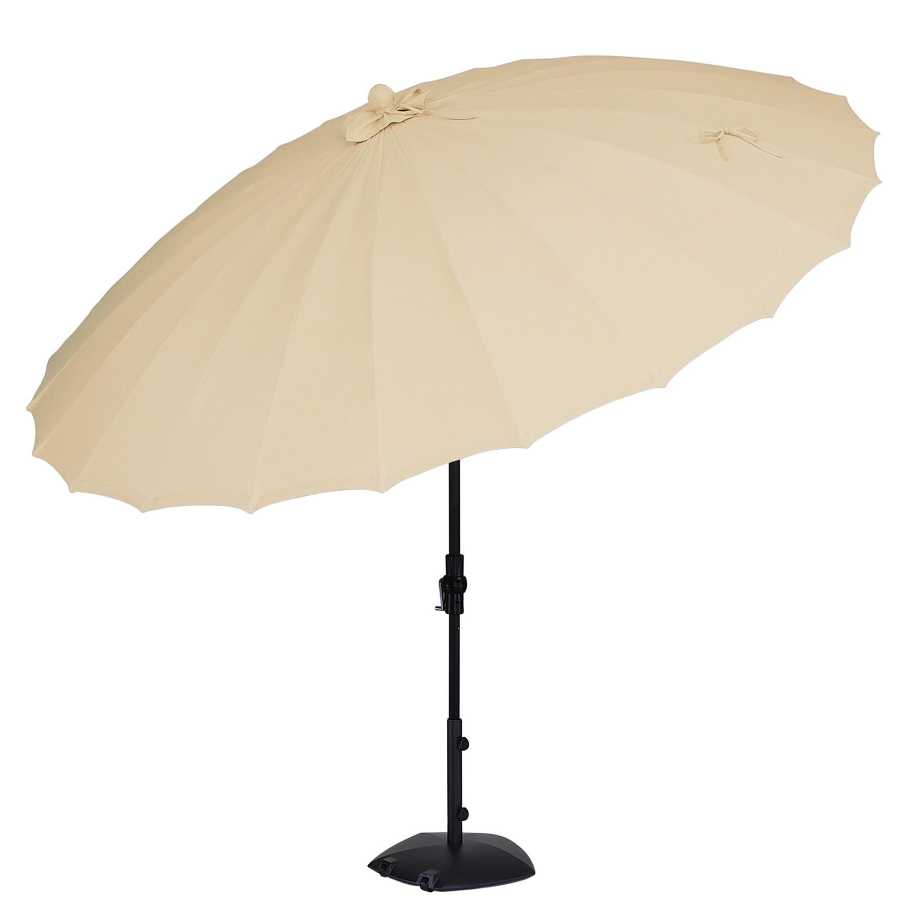 10u0026#39; Octagonal Shanghi Umbrella w/ Collar Tilt - Hauseru0026#39;s Patio