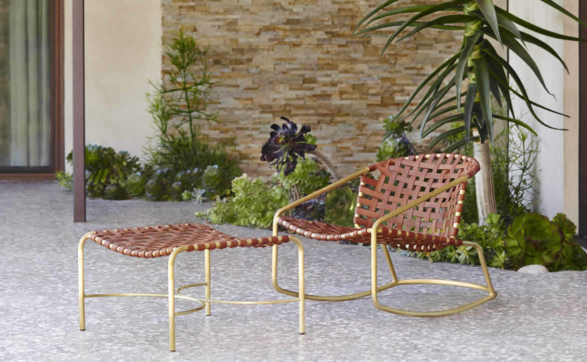 Gentil Kantan Brass By Brown Jordan Seating Arrangements Online ...