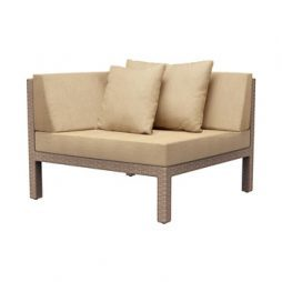Elements Woven Corner Sectional W Loose Cushions 1