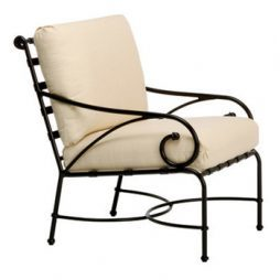 Florentine Lounge Chair W Loose Cushions