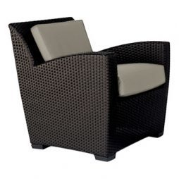 Fusion Lounge Chair W Loose Cushions  Slim Back
