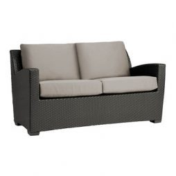 Fusion Loveseat W Loose Cushions   Slim Back