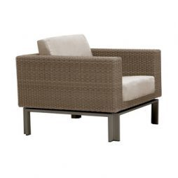 Il Viale Lounge Chair W Loose Cushions