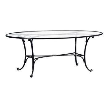 Roma 48 X 72 Oval Dining Table No Umbrella HoleRoma 48 X 72 Oval Dining Table No Umbrella Hole   Hauser s Patio. Outdoor Dining Table No Umbrella Hole. Home Design Ideas