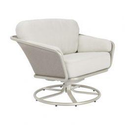 Verge Swivel Tilt Lounge Chair Loose Cushions