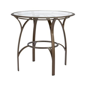 Wave 42 Round Bar Table No Umbrella Hole Hauser S Patio