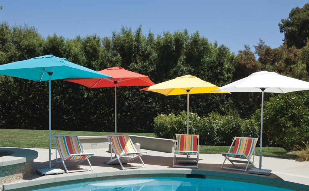 Treasure Garden shade umbrellas
