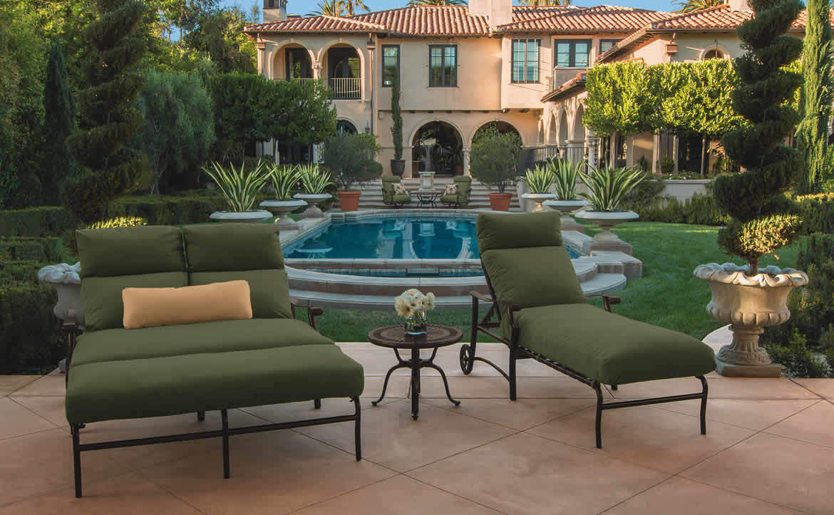 sling clearance patio chaise and tropitone fireplace lakeside hdr furniture georgetown