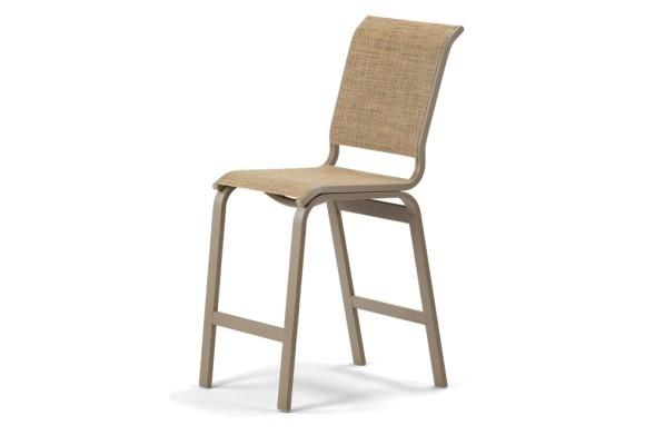 Aruba II Sling Balcony Height Armless Chair