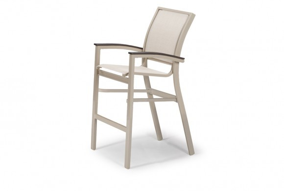 Bazza Balcony Height Stacking Cafe Chair w/ MGP Arms