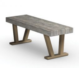 "Atlas Tables 45"" Atlas Plank Bench"