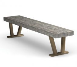 "Atlas Tables 70"" Atlas Plank Bench"
