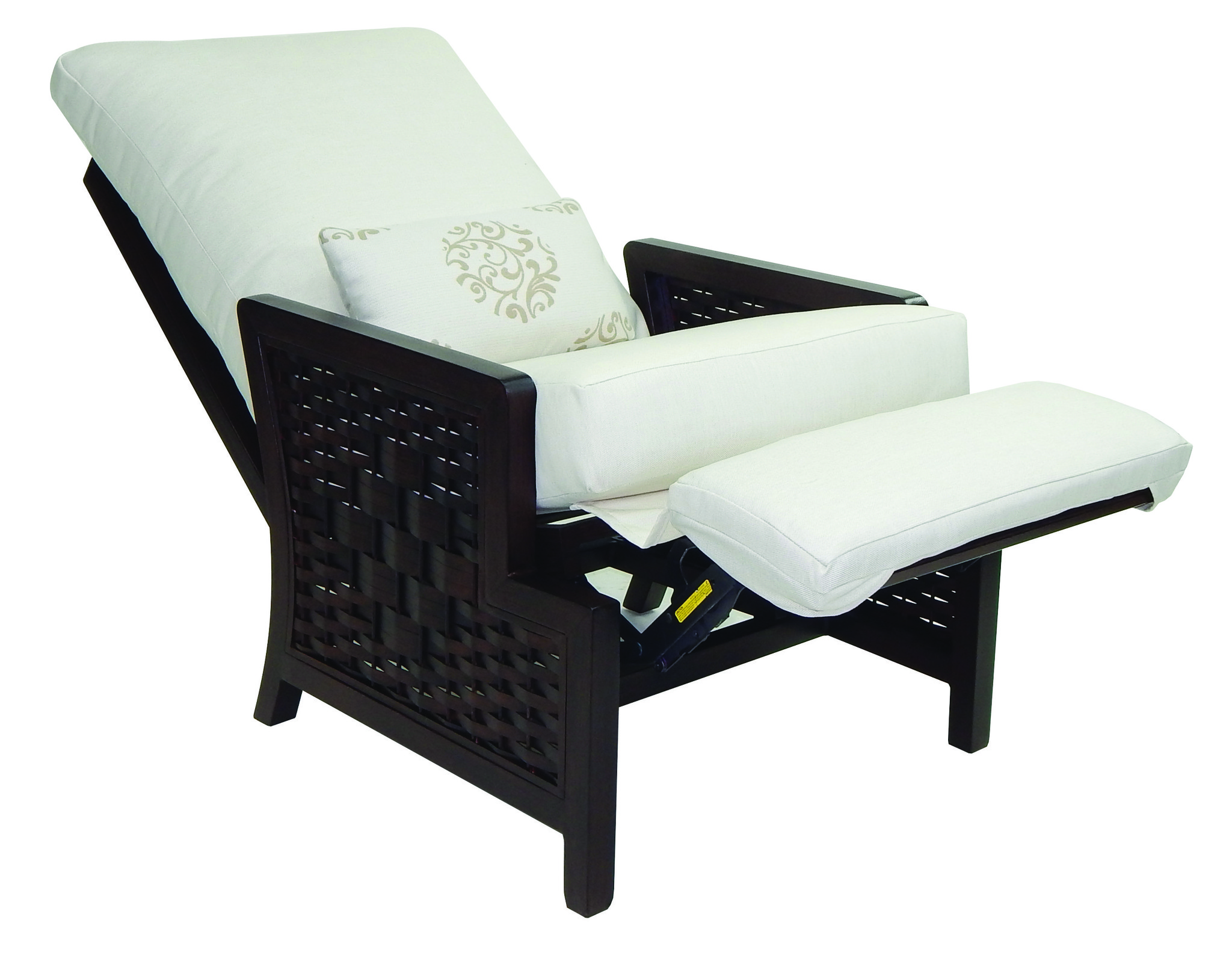 Spanish Bay Cushion 3 Position Recliner Chair W One