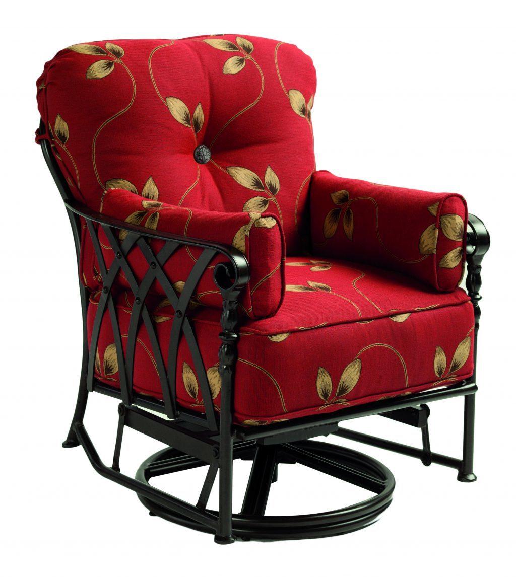 Veranda cushion swivel glider