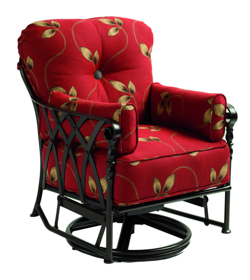 Veranda cushion swivel glider