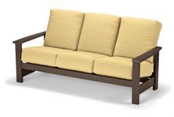 Leeward Cushion Three-Seat Sofa
