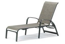 Primera Sling 4-Position Lay-flat Stacking Chaise
