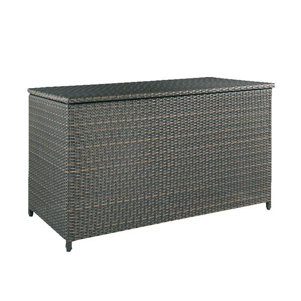 Handsome wicker storage chest