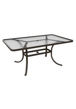 Acrylic-Rectangular-Dining-Table-1866A